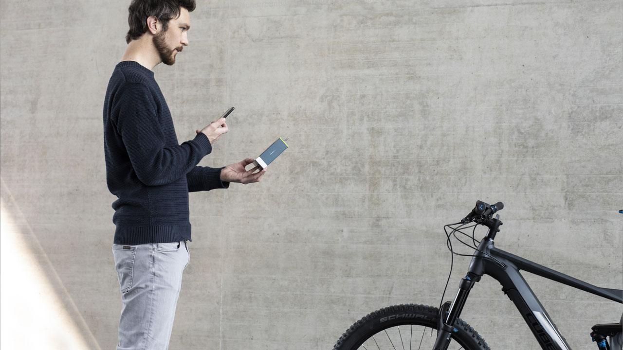GPS-Tracker Aktivierung - PowUnity BikeTrax
