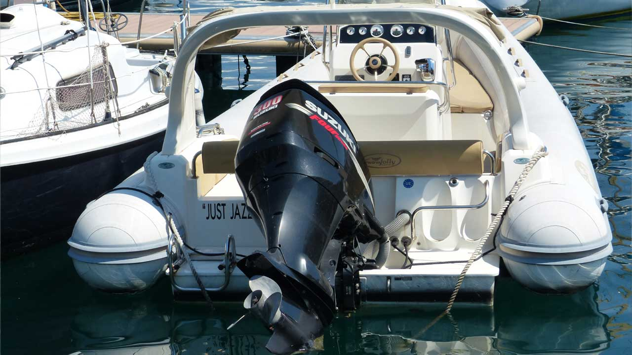 GPS Tracker Außenbordmotor - GPS Diebstahlschutz Boot