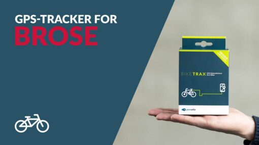 GPS Tracker for Brose - PowUnity BikeTrax for E-Bikes & Co.