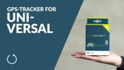 GPS Tracker for Universal - PowUnity BikeTrax for E-Bikes & Co.