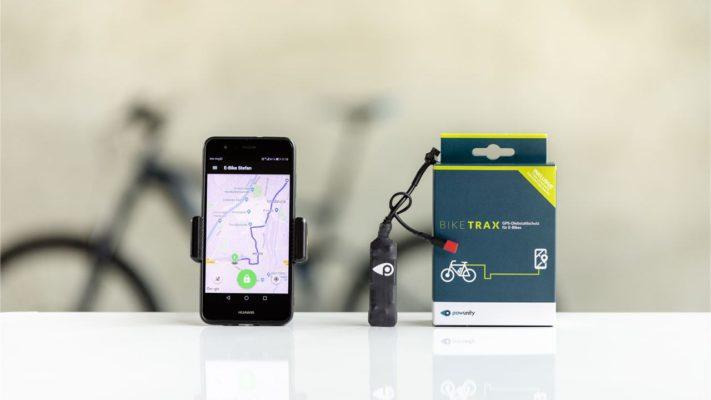 GPS-Tracker für E-Bikes - PowUnity Biketrax