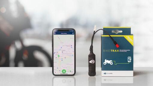 Gute GPS-Tracker wie BikeTrax werden versteckt am E-Bike montiert und bieten alle notwendigen Features wie Bewegungsalarm, BikePass u.v.m.