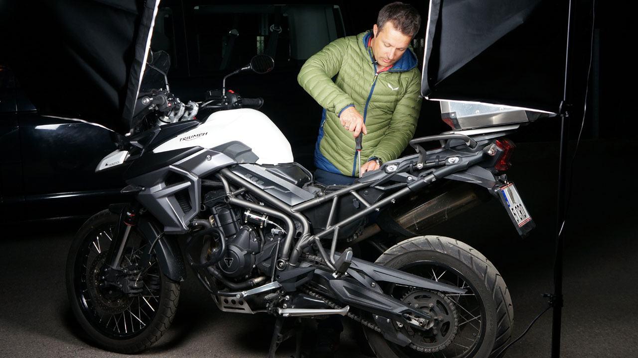 Motorrad GPS Tracker - Versteckter Diebstahlschutz für dein Motorrad
