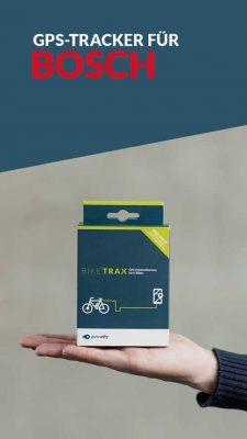 Ebike GPS Tracker für Bosch