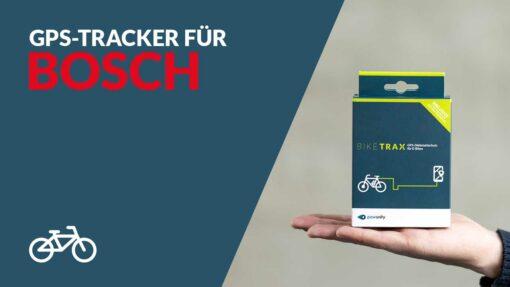 Ebike GPS Tracker Bosch - BikeTrax GPS theft protection from PowUnity