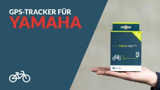 Ebike GPS Tracker Yamaha - BikeTrax GPS-Diebstahlschutz von PowUnity