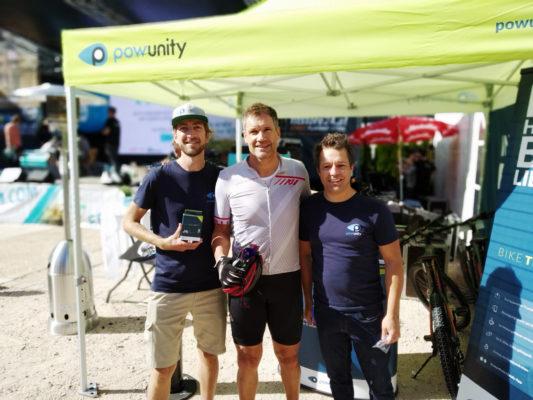 E-Bike Diebstahlsicherung mit BikeTrax by PowUnity