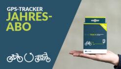 BikeTrax Jahresabo