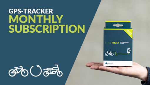 BikeTrax monthly subscription