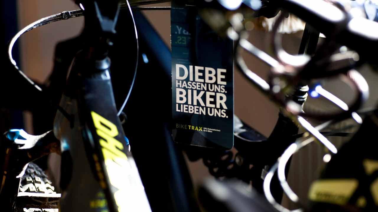 Der BikeTrax GPS-Tracker von PowUnity verhindert immer wieder Diebstähle