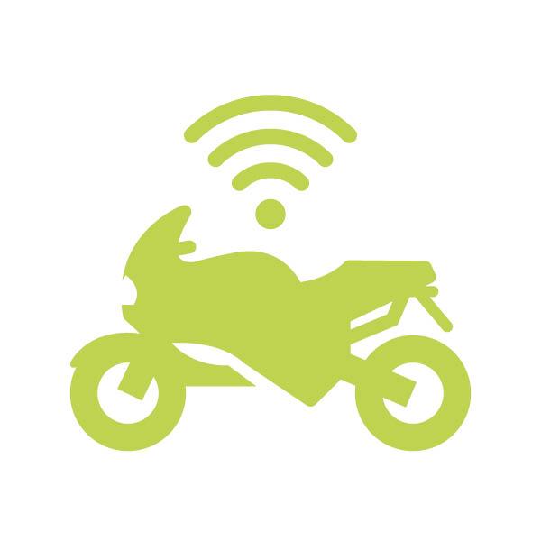 Motorrad-Diebstahlschutz mit Biketrax GPS-Tracker