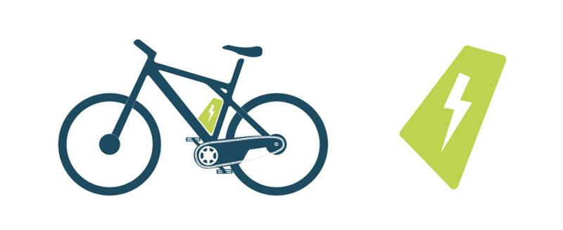 Diebstahlschutz für Fahrradkomponenten wie beispielsweise E-Bike-Akkus
