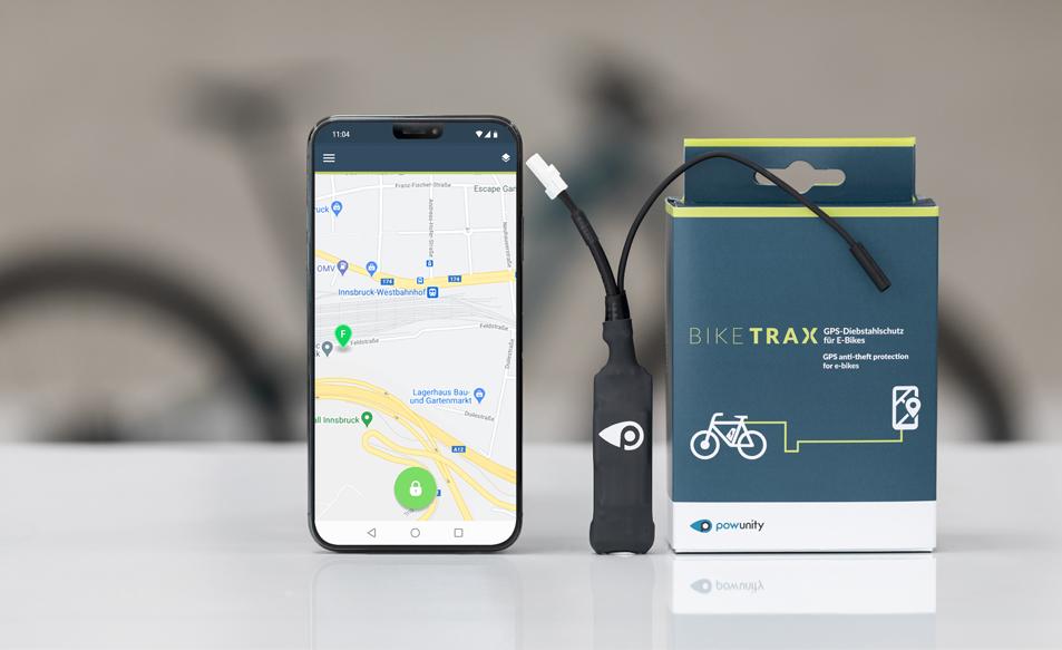 Biketrax gps Tracker bestellen