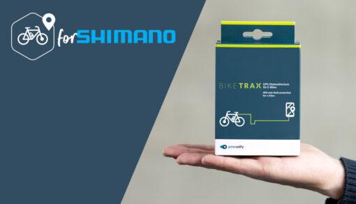 BikeTrax GPS-Tracker für Shimano Ebikes