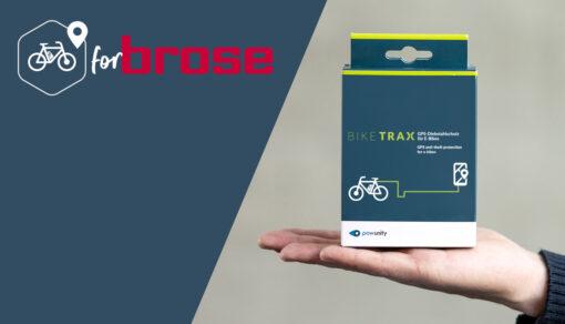 biketrax GPS Tracker für brose E-bikes