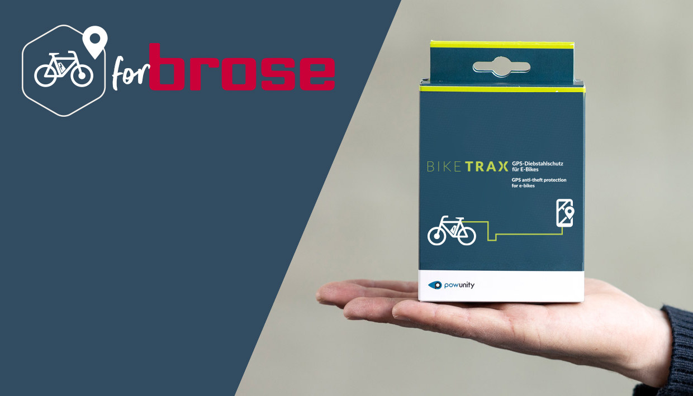 BikeTrax Powunity GPS-Tracker E-Bike Diebstahlschutz für Specialized mit Brose