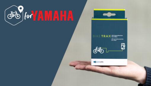 BikeTrax GPS Tracker für Yamaha Ebikes