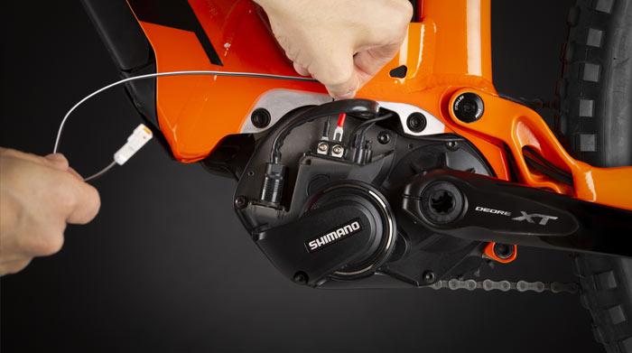 Biketrax Shimano Montage