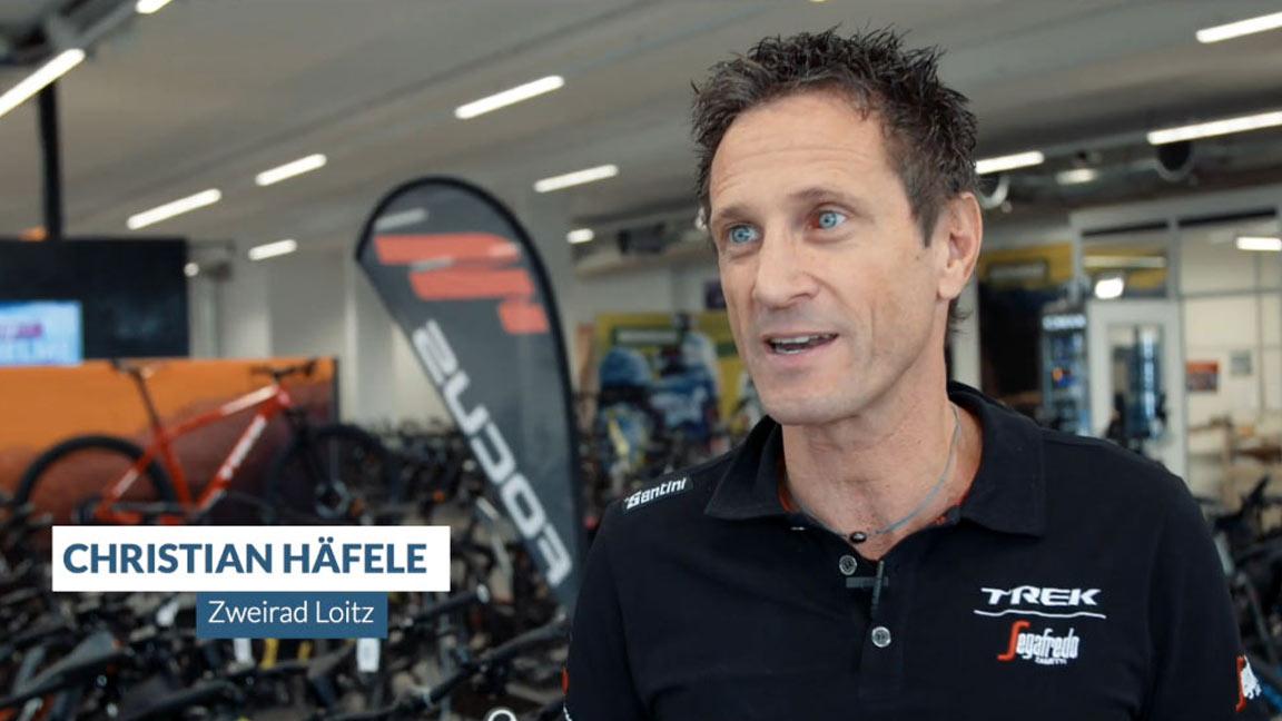 Christian Häfele von Zweirad Loitz