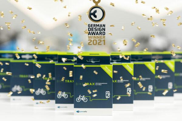 powunity Biketrax gewinnt den German Design Award 2021