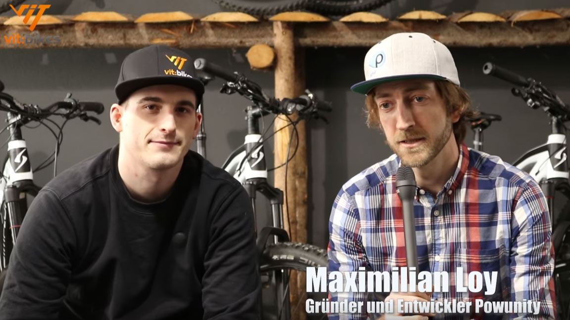 Vitbike und powunity Interview Video