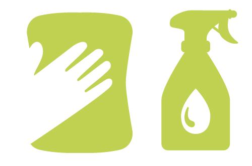 Icon Reinigungsmittel