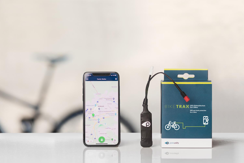 BikeTrax GPS-Tracker für E-Bikes