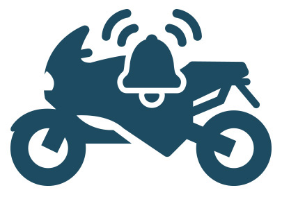 Alarmanlage für Motorrad