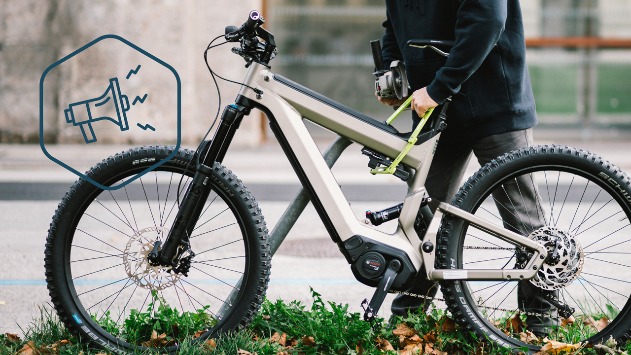 The louder the bike alarm system the more effective the theft protection