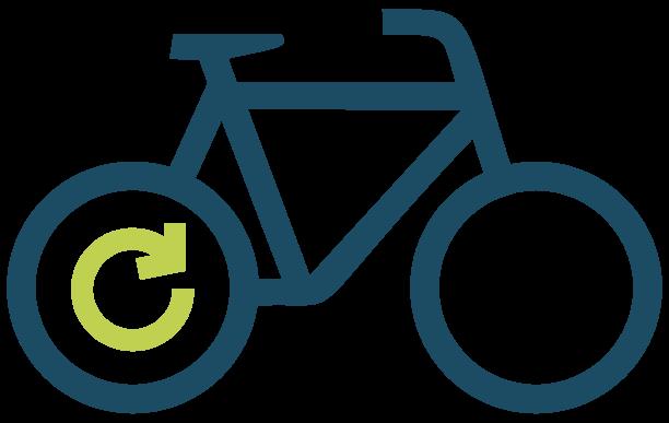 E-Bike mit Heckmotor